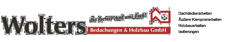 Logo von Wolters Bedachungen & Holzbau GmbH